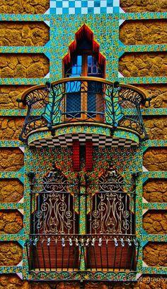 Antoni Gaudi - Casa Vicens - Barcelona - Spain