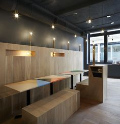 Gundry & Ducker : Restaurant Yoobi - ArchiDesignClub by MUUUZ - Architecture & Design