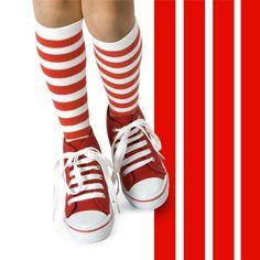 Polka dot or stripes? I'm not sure yet! #stripes #redandwhite #graphic #thisisniaz #niazzia