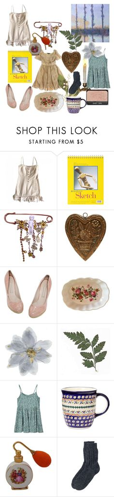 """Untitled #116"" by sunsetsandflowers ❤ liked on Polyvore featuring Chanel, Disney, Polish Pottery and Toast"