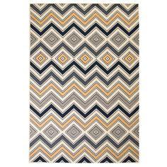 Clara Grey/Blue Rug Langley Street Rug Size: Rectangle 180 x Dark Grey Rug, Black Rug, Brown Rug, Yellow Rug, Tapis Design, Neutral Color Scheme, Gold Rug, Black, Blue Nails