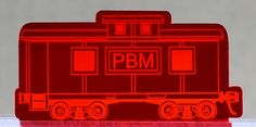 Mirror Red M1310 Caboose