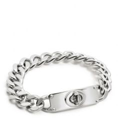 I NEED IT  The Curbchain Turnlock Bracelet from Coach