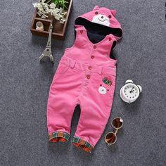 Velvet Bear Hooded Long Pants jumpsuit  #Trend #Hot #Sale #New #Buy #Discount