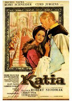 """Katia""(1959) (original title) aka ""Adorable Sinner"" ~ Stars: Romy Schneider, Curd Jürgens, Pierre Blanchar, Michel Bouquet ~ Director: Robert Siodmak"