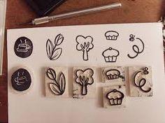 carimbos artesanais tutorial - Pesquisa Google
