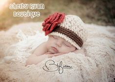 Crochet Pattern for Avery Beanie - 6 sizes, baby to XL adult - Welcome to sell finished items. $4.95, via Etsy.