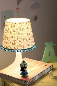 A Super Simple Way To Recover A Lampshade