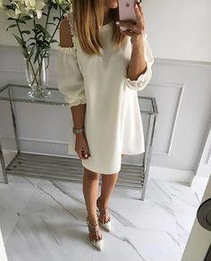 #goodnight #white #dress #Mint Label #sukienka #instagram #instafashion #stylish #outfit #streetstyle #look #style #shopping