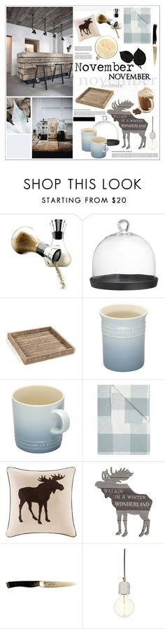 """November"" by szaboesz ❤ liked on Polyvore featuring interior, interiors, interior design, home, home decor, interior decorating, Eva Solo, Oui, Crate and Barrel and Le Creuset"