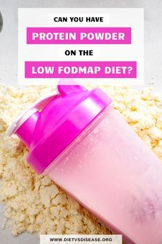 Many people use protein powders for a variety of reasons, but can you use them on a low FODMAP diet? This article will help you find one that is safe. Healthy Protein Shakes, Protein Shake Recipes, Best Protein, Healthy Smoothies, Fodmap Meal Plan, Fodmap Diet, Low Fodmap, Protein Powder Brands, Pea Protein Powder