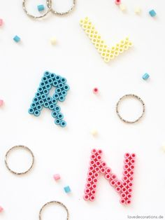 DIY Bead Key Chain   DIY Schlüsselanhänger aus Bügelperlen