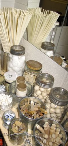Art studio materials - Playfully Inspired: A Journey Through Early Learning ≈≈