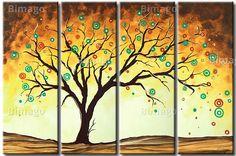 Magischer Baum - ideales Wandbild für die Herbstzeit!