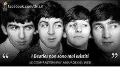 I Beatles non erano quattro, ma un numero imprecisato di sosia. La luna è solo un ologramma. Jay-Z non è un rapper, ma un vampiro capace di viaggiare nel tempo. Sono solo alcune delle più strane teorie complottiste che si possono trovare sul web. Pensate siano solo assurdità? C'è chi ci crede davvero, al punto da realizzare siti e campagne informative