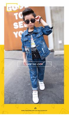 7026f93df83f F166185  Euramerican Sportswear Fashion Jeans Denim Jacket Letter Patch  Broken Comfortable Suit Bulk Wholesale Kids Clothing - Buy Fashion Nova  Clothing