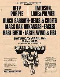 california jam 1974 | CALIFORNIA JAM 1974