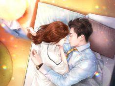 Cute Couple Drawings, Cute Couple Cartoon, Anime Couples Drawings, Cute Couple Art, Anime Love Couple, Manga Couple, Anime Couples Manga, Anime Couples Sleeping, Cute Couple Sleeping