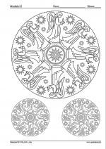 Farvel�g julem�nstret Zentangles, Colouring Pages, Adult Coloring, Kid Stuff, Advent, Mystic, Christmas Crafts, Religion, School