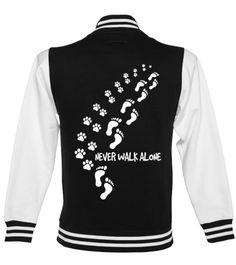 4b3d9986 NEVER WALK ALONE - COLLEGE JACKE - Baseball-Jacke Unisex #Shirts #TShirts  Baseball