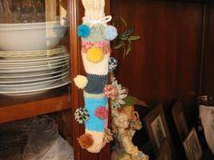 calze con avanzi di lana