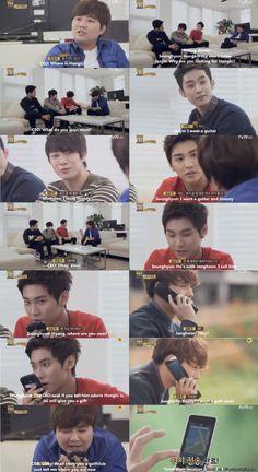 How long does it take till the members betray hongki? XD | allkpop Meme Center