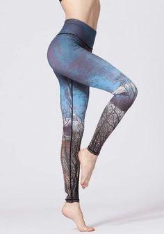 Mandala Yoga Tights Sport Leggings 7//8 Graphical Print Recyled Polyester Gr L