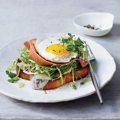 Brioche with Prosciutto, Gruyère and Egg | Food & Wine