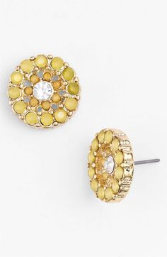 Carole Vintage Circle Stud Earrings | Nordstrom - Only $10