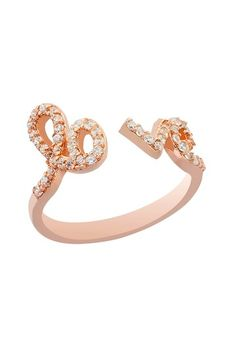 Love Ring by Gab + Cos Designs Double Ring on @HauteLook