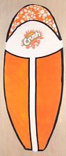 Vintage Orange Crush Pop Surfboard Beach Towel - Board Towelz