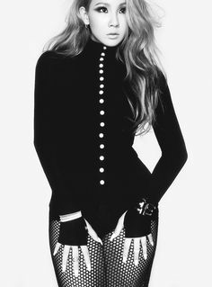 2NE1 CL - Elle Magazine October Issue '14