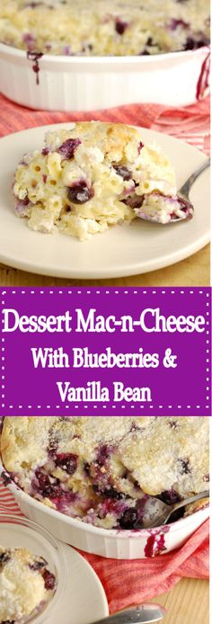 Yes, you read that right! Macaroni & Cheese for Dessert! A fun new way to enjoy your favorite comfort food. Get the recipe!