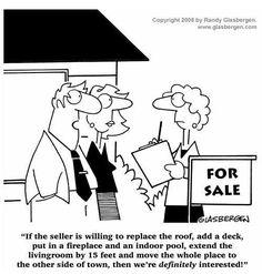 Funny Real Estate cartoon