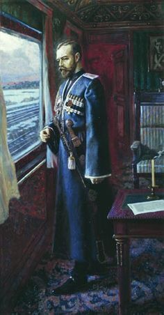 15 March 1917; Nicolas II in his train after signing the abdication. - Russian Telegraph (@RT_1917) | Twitter