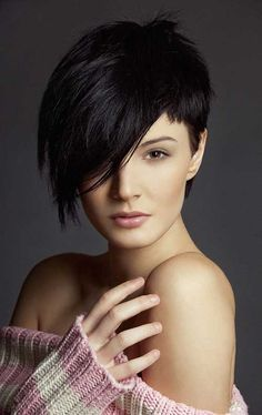 short in the front long in the back hairstyle   25 Short Hairstyles for Round Faces   2013 Short Haircut for Women