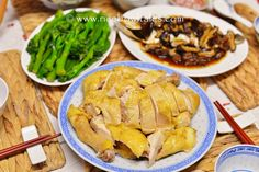 Rice Bowl Tales: 客家蒸鹽雞 ( 賀年菜式 ) Steamed Salted Chicken ( Chinese New Year Food )