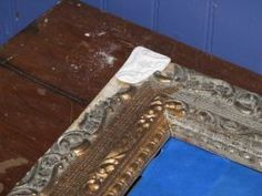 How to Repair A Gilded Plaster Picture Frame