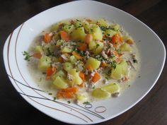 Kartoffel-Hackfleisch-Topf mit Schmand und Möhren, ein sehr leckeres Rezept aus der Kategorie Studentenküche. Bewertungen: 315. Durchschnitt: Ø 4,5.