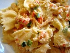 Make and share this Creamy Crawfish Pasta recipe from Food.com.