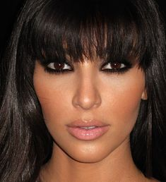 the kim kardashian look