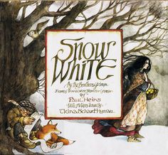 Snow White illustrated by Trina Schart Hyman.   One of my all-time favorite illustrators. :)