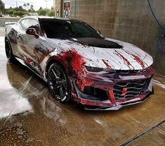 "Polubienia: 4,565, komentarze: 62 – #accountforsale (@bucketseat) na Instagramie: ""Rate this wrap 1-10 FOLLOW @bucketseat ________ [ Photo Via @royalwhips ] #bucketseat #royalwhips"" Car Wash, Luxury Cars, Camaro Zl1, Chevrolet Corvette, Chevrolet Silverado, Cool Sports Cars, Modified Cars, Car Tuning, Stubborn Fat"