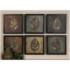 Buy Uttermost 50890 New Leaf Framed Panel Set