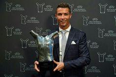 Cristiano Ronaldo fue el mejor jugador de la temporada 2015-2016 para la UEFA