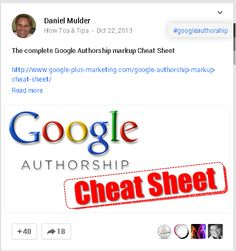 Sharing to Google Plus as NoFollow link or as an image example post