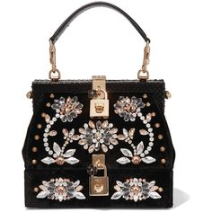Dolce & Gabbana Snake-trimmed embellished velvet tote (15.255 BRL) ❤ liked on Polyvore featuring bags, handbags, tote bags, purses, сумки, black, man tote bag, tote handbags, handbag purse and evening hand bags