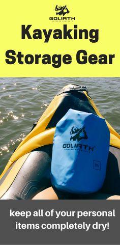 Kayaking Storage Gear Adventure Time Lake Life Living