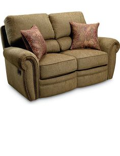 The Megan Double Reclining Loveseat s design exemplifies the latest