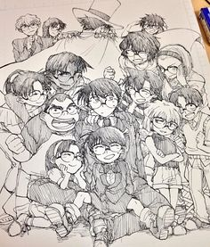 Glasses party --Detective Conan--